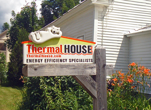 Sign Thermal House Jamaica Vermont 05343 USA
